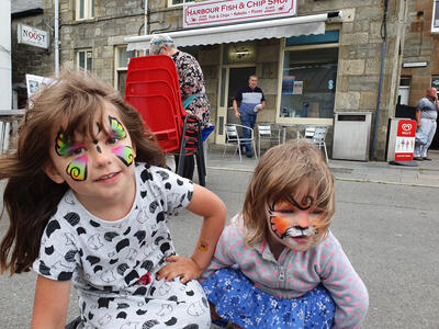 Town busy for Lerwick Shopping Week